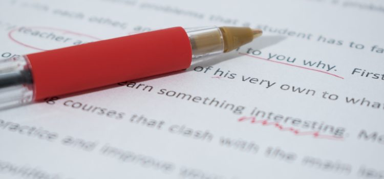 Why should you use an editor when self-publishing?